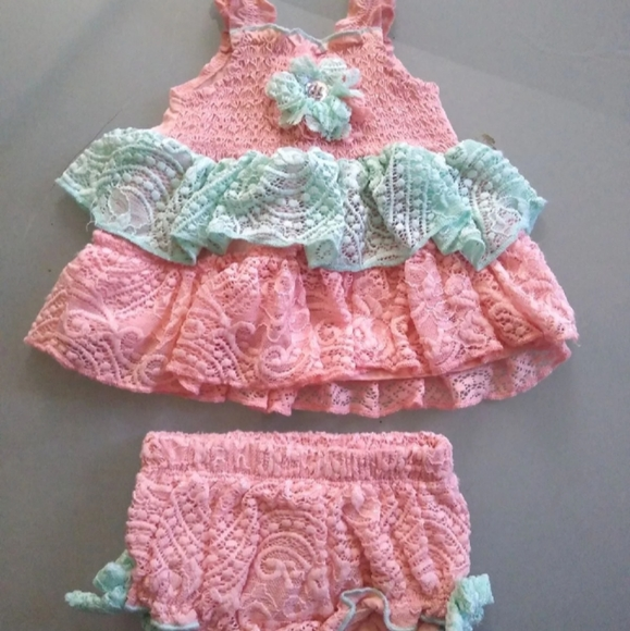 Little Lass baby two piece